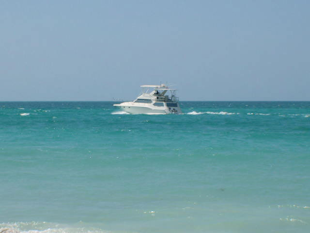 Boating in the Gulf